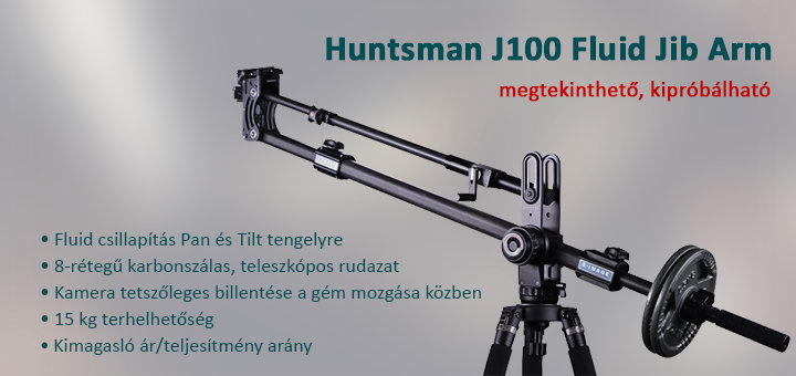 E-Image Huntsman J100 Fluid jib arm