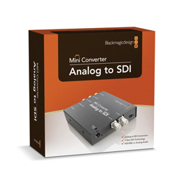 Blackmagic Design Analog to SDI Mini Konverter - bővebben
