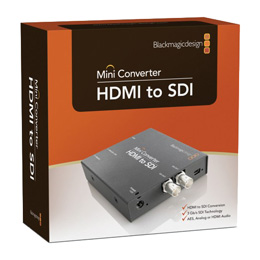 Blackmagic Design HDMI to SDI Mini Konverter - bővebben