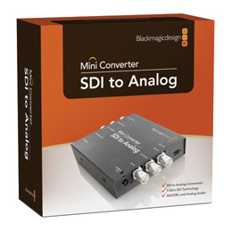 Blackmagic Design SDI to Analog Mini Konverter - bővebben