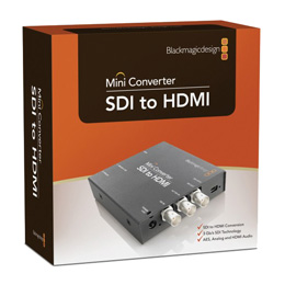 Blackmagic Design SDI to HDMI Mini Konverter - bővebben