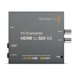 Blackmagic HDMI to SDI 6G Mini Konverter - bővebben