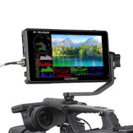 "FEELWORLD LUT6S 2600 nit-es 6""-os SDI/HDMI Touch Screen monitor"