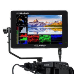 "FEELWORLD LUT7S 2200 nit-es 7""-os SDI/HDMI Touch Screen monitor"