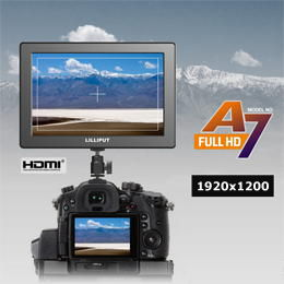 "Lilliput A7 7"" IPS FULL HD Monitor (HDMI i/o)"