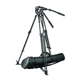 Manfrotto 516,350MVB Video Tripod System with Fluid Head - larger image