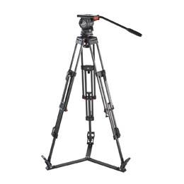 Sachtler 10 SB ENG 2 CF Video Tripod System with Fluid Head - larger image